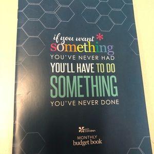 erin condren other monthly budget book new poshmark